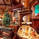 """オルゴールミュージアムのクリスマス""""くるみ割り人形""""とお菓子の家"""