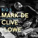 Mark de Clive-Lowe マーク・ド・クライブ・ロウ Sound workshop&Live@sonihouse