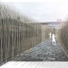 京都文化力プロジェクト 野外インスタレーション公募展:ユージン・ソレール「Kyoto Urban Wind Installation」