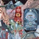 タイガー立石[ 立石紘一]《哀愁列車》1964 年 高松市美術館 ©Tiger Tateishi Courtesy of YAMAMOTO GENDAI
